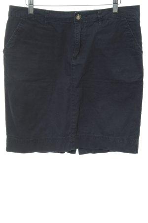 Montego Minirock dunkelblau Casual-Look