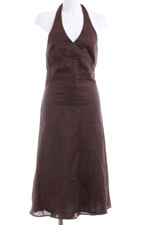 Montego Halter Dress brown casual look