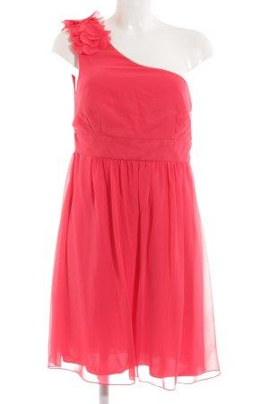 Montego One-Shoulder-Kleid rot Elegant