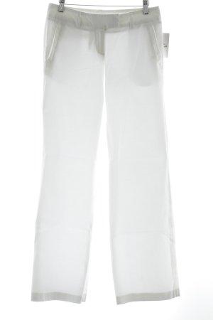 Montego Stoffhose weiß Elegant