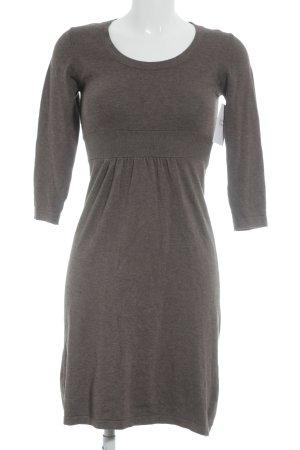 Montego Abito di maglia marrone-grigio stile casual