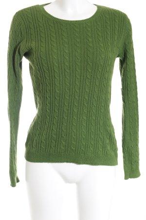 Montego Strickpullover waldgrün Casual-Look