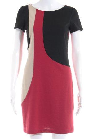 Montego Vestido de tela de sudadera estampado a rayas elegante