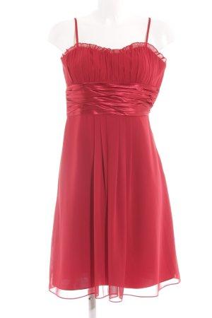 Montego Trägerkleid hellrot-rot Elegant