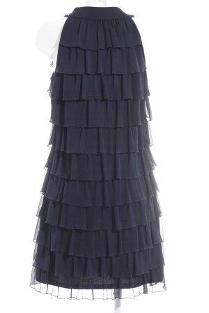 Montego Volantkleid dunkelblau Elegant