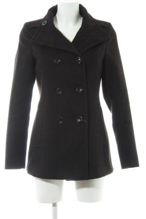 Montego Wintermantel schwarz schlichter Stil