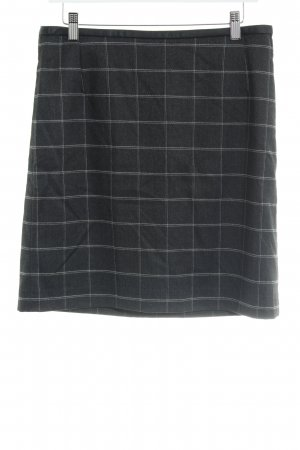 Montego Wool Skirt check pattern casual look