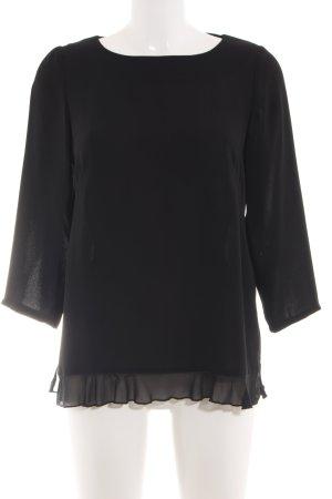 Monton Ruffled Blouse black elegant