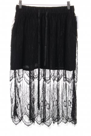 Monton Lace Skirt black romantic style