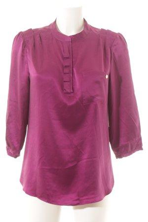 Moods of Norway Langarm-Bluse purpur Elegant