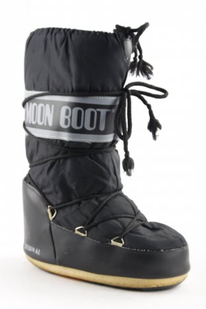 Moon boot Snowboots schwarz extravaganter Stil
