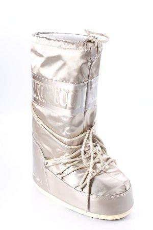 Moon boot Winterstiefel beige extravaganter Stil