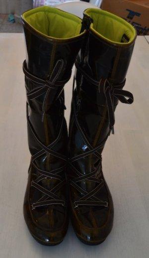 Moon Boots braun Lack Gr. 40