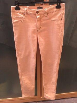 Five-Pocket Trousers apricot mixture fibre