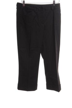 More & More Pantalon 3/4 noir style d'affaires