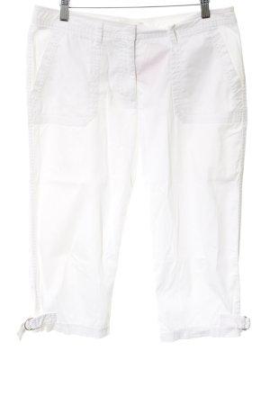 More & More Pantalon 3/4 blanc style décontracté