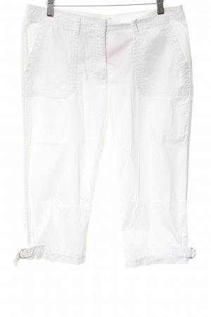 More & More Pantalone a 3/4 bianco stile casual