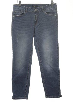 More & More 7/8 Jeans blau Street-Fashion-Look