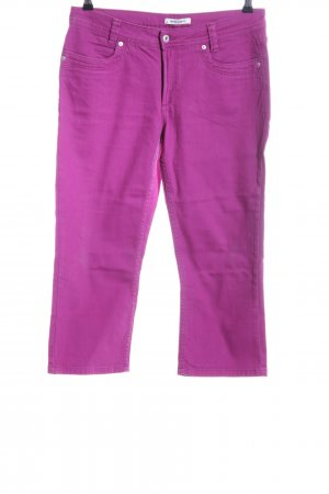 More & More 7/8-jeans lila casual uitstraling