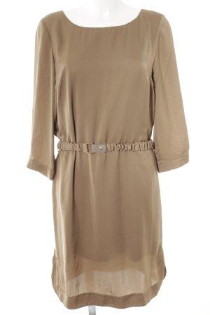 More & More A-Linien Kleid beige Elegant