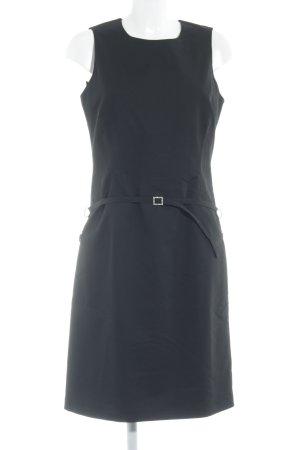More & More A-Linien Kleid schwarz Business-Look