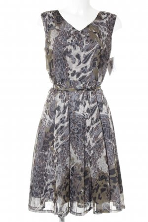 More & More Abendkleid abstraktes Muster Casual-Look