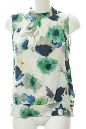 More & More ärmellose Bluse abstraktes Muster Elegant