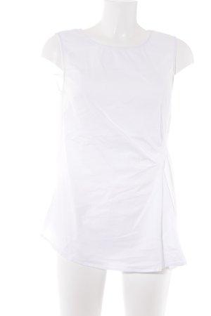 More & More Blusa senza maniche bianco elegante