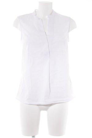 More & More ärmellose Bluse weiß Elegant