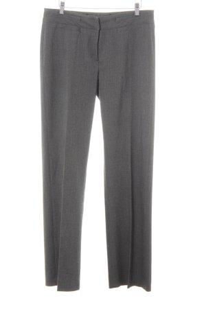 More & More Pantalon de costume gris moucheté style d'affaires
