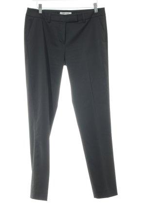 More & More Pantalon de costume noir style d'affaires