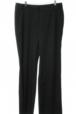 More & More Pantalone da abito nero stile professionale