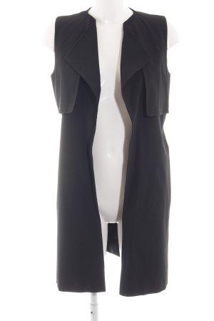 More & More Gilet de costume noir style d'affaires