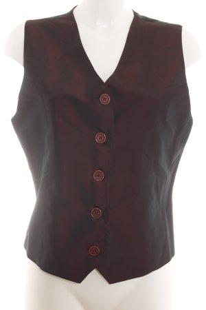 More & More Gilet de costume bronze style d'affaires