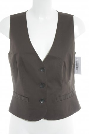 More & More Waistcoat dark brown classic style