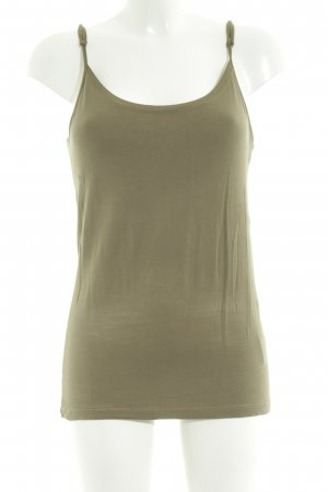 More & More Basic Top khaki Casual-Look