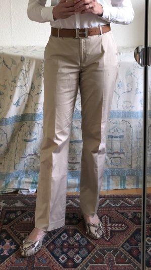 More & More beige Hose aus leichter Sommerbaumwolle