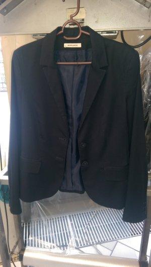 more & more Blazer gr 40 dunkelblau / schwarz