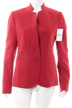 More & More Blazer rot klassischer Stil