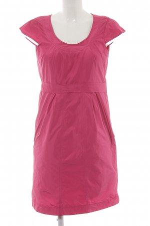 More & More Bleistiftkleid pink Glanz-Optik