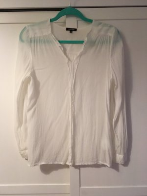 More & More Blouse transparente blanc