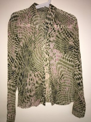 More & More Bluse und Rock Kombi Gr. 38 rosa grün