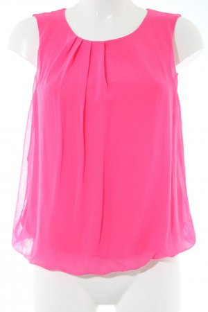 More & More Blouse topje roze casual uitstraling