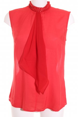 More & More Blouse Top bright red elegant
