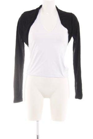 More & More Bolero white-black casual look