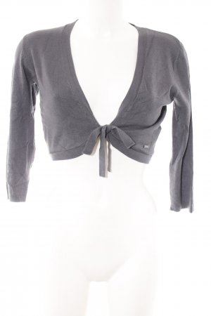 More & More Bolero grau Casual-Look