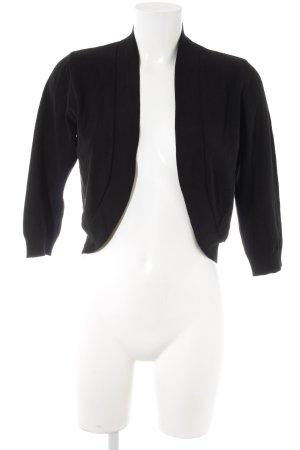 More & More Bolero schwarz schlichter Stil