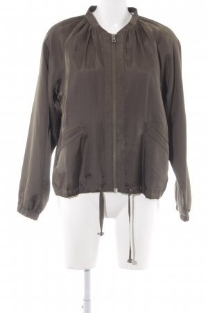 More & More Bomberjacke khaki Street-Fashion-Look