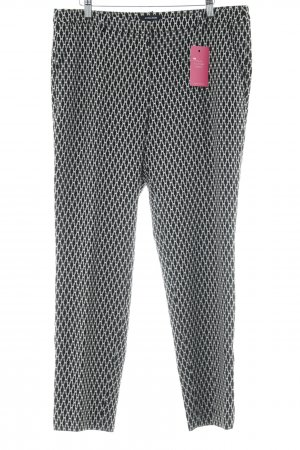 More & More Pleated Trousers abstract pattern casual look