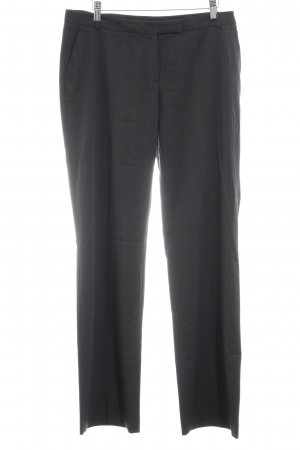 More & More Bundfaltenhose anthrazit-taupe Karomuster Business-Look